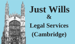 Just Wills & Legal Services Cambridge Logo 6 May 1