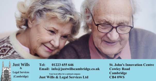 Older Parents Just Wills & Legal Services Cambridge J